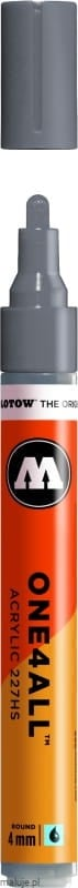 Molotow ONE4ALL 227HS 203 cool grey pastel 4mm - marker akrylowy