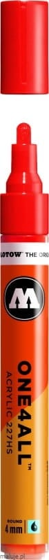 Molotow ONE4ALL 227HS 013 traffic red 4mm - marker akrylowy