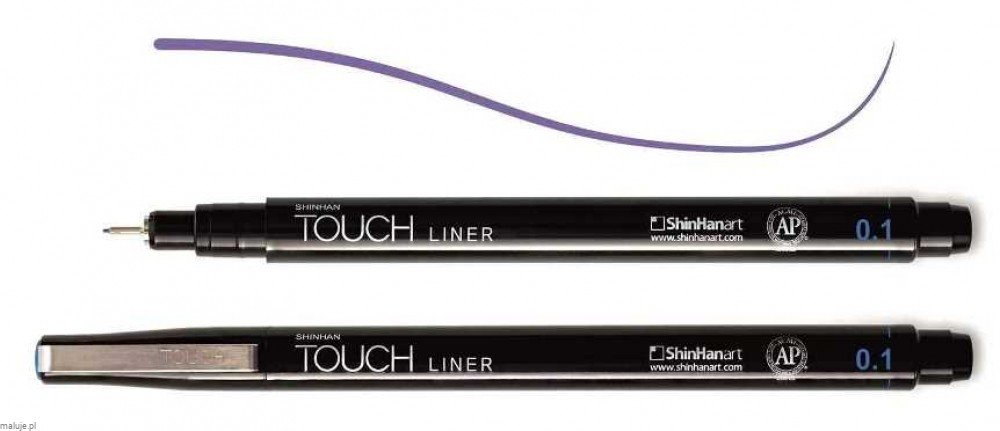 Touch Liner 0,1 mm PURPLE - cienkopis