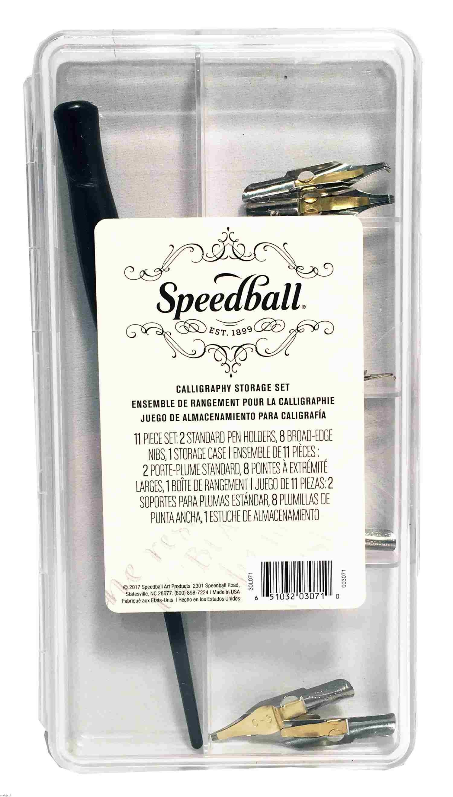 "Speedball Zestaw do kaligrafii ""Calligraphy Storage Set"""