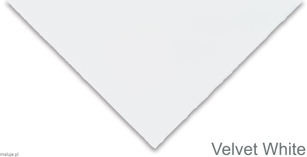 Somerset White VELVET 250g 560x760mm - papier graficzny