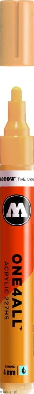 Molotow ONE4ALL 227HS 009 sahara beige pastel 4mm - marker akrylowy