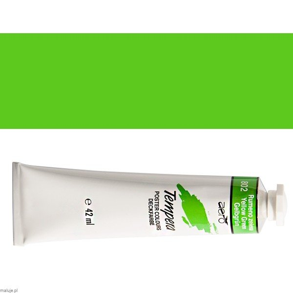 Tempera AERO 802 Yellow Green - 42ml