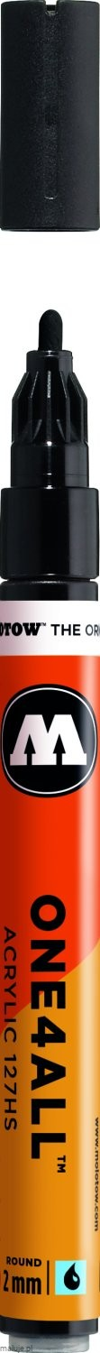 Molotow ONE4ALL 127HS 180 signal black 2mm - marker akrylowy