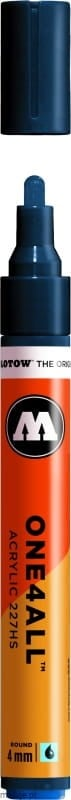 Molotow ONE4ALL 227HS 027 petrol 4mm - marker akrylowy
