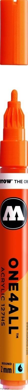 Molotow ONE4ALL 127HS 085 dare orange 2mm - marker akrylowy