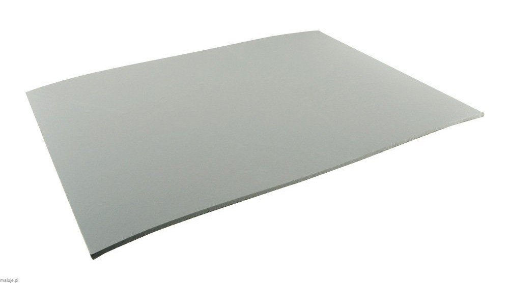 "Speedbal Red Baronl Lino ""Gray"" 22,8x30,4 - Linoleum do linorytu"