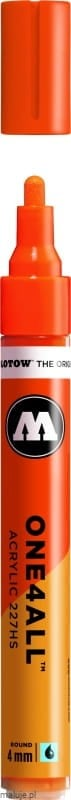 Molotow ONE4ALL 227HS 085 dare orange 4mm - marker akrylowy