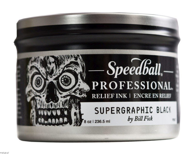 Speedball Professional Ink Supergraphic Black - farba graficzna