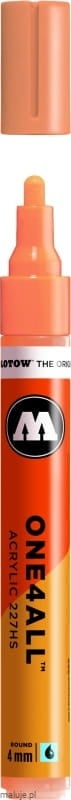 Molotow ONE4ALL 227HS 117 peach pastel 4mm - marker akrylowy