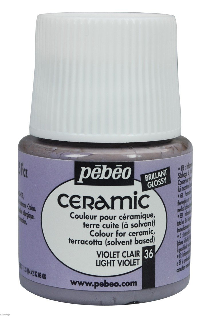 Ceramic 36 LIGHT VIOLET- farba do ceramiki