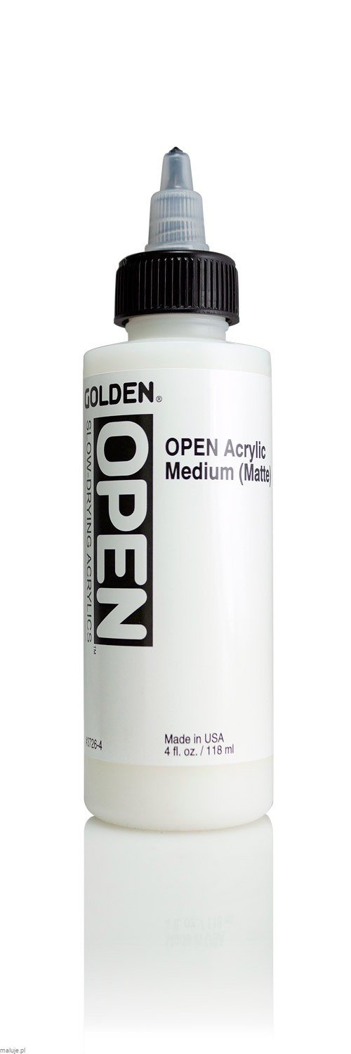 Golden OPEN Acrylic Medium Matowe