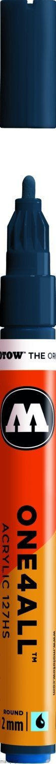 Molotow ONE4ALL 127HS 027 petrol 2mm - marker akrylowy