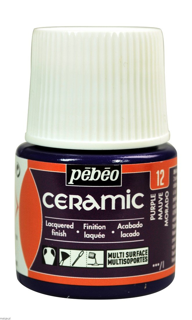 Ceramic 12 PURPLE - farba do ceramiki