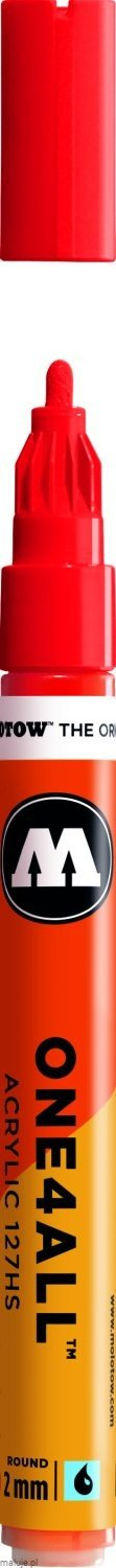 Molotow ONE4ALL 127HS 013 traffic red 2mm - marker akrylowy