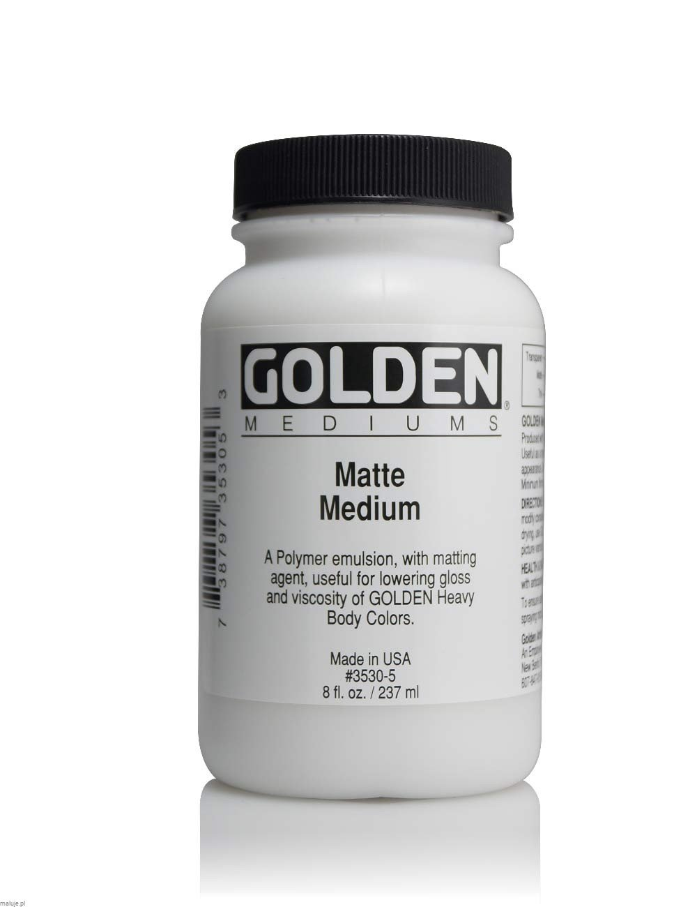 Golden Matte Medium Matowe