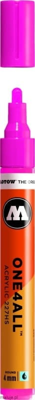 Molotow ONE4ALL 227HS 217 neon pink fluorescent 4mm - marker akrylowy