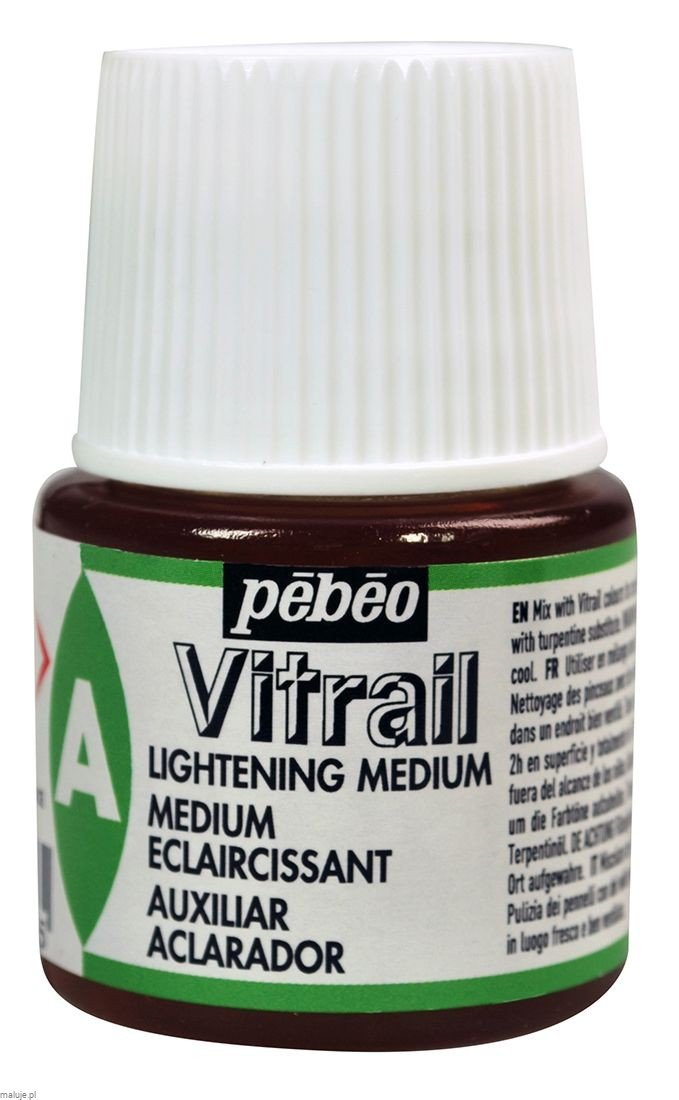 Vitrail Lightening Medium - medium rozjaśniające do farb Vitrail