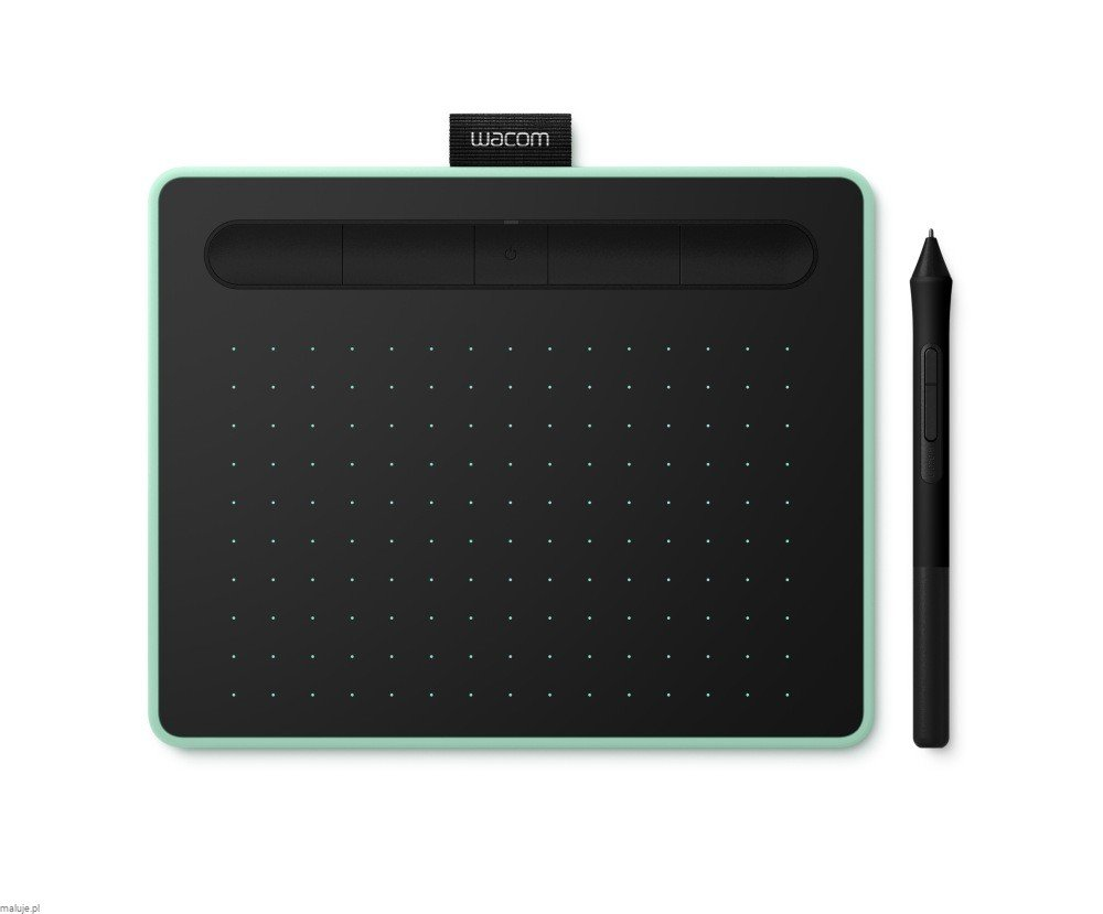 Wacom Intous Small Pistachio Bluetooth - tablet graficzny A6