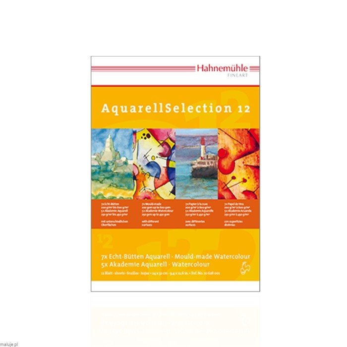 Aquarell Selection 12 - Blok akwarelowy