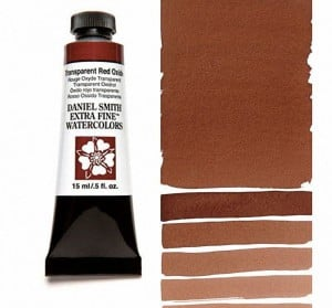 Daniel Smith akwarela Transparent Red Oxide