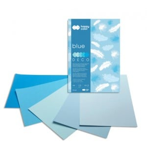 Blok Deco 170g 20 ark. BLUE