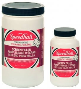 Speedball Screen Filler - kit do wypełniania sita