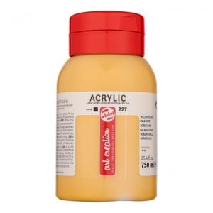 Farba akrylowa Art Creation Acrylic Yellow Ochre 750ml