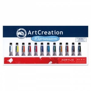 TALENS Art Creation Expession Acrylic 12x12ml