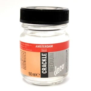 AMSTERDAM Medium CRACKLE 50ml - medium pękające