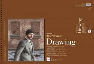 Strathmore 400 series Drawing paper 163g 24 ark - blok do rysunku