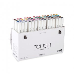 Touch Twin Brush Marker 60 Set B - komplet