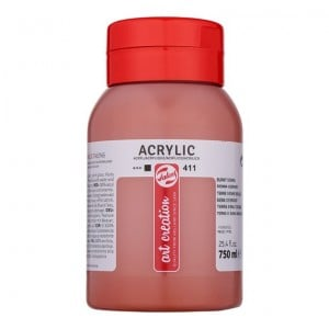 Farba akrylowa Art Creation Acrylic Burnt Sienna 750ml
