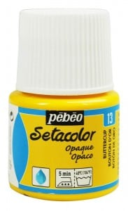 Pebeo Setacolor 45ml Buttercup - farba do tkanin