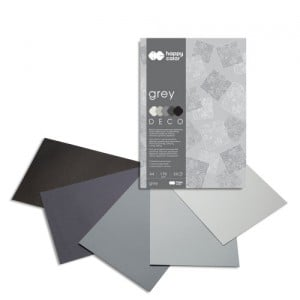 Blok Deco 170g 20 ark. GREY