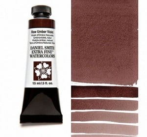 Daniel Smith akwarela Raw Umber Violet