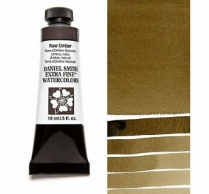 Daniel Smith akwarela Raw Umber
