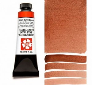 Daniel Smith akwarela Italian Burnt Sienna