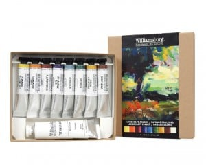 Williamsburg Landscape Colors Set 11ml -komplet