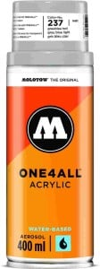 Molotow ONE4ALL SPRAY 400ml #237 grey blue light - spray akrylowy