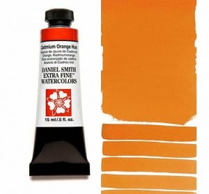 Daniel Smith akwarela Cadmium Orange Hue