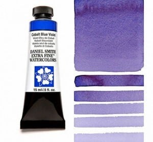 Daniel Smith akwarela Cobalt Blue Violet