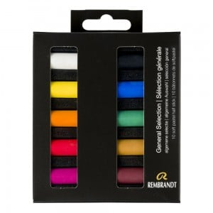 Rembrandt Soft Pastels 10x Half Stick - General Selection