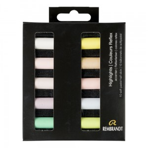 Rembrandt Soft Pastels 10x Half Stick - Highlights