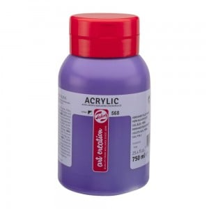 Farba akrylowa Art Creation Acrylic Permanent Blue Violet 750ml