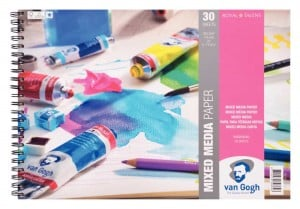 Van Gogh Mix Media Paper 300g 30ark -blok do technik mieszanych