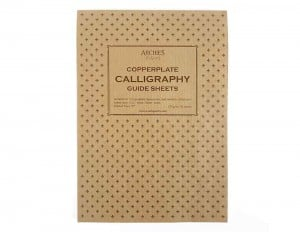 Archie's Calligraphy Copperplate Guide Sheets 6/4/6 A4 Portrait 120g 50ark - blok do kaligrafii