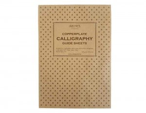 Archie's Calligraphy Copperplate Guide Sheets 9/6/9 A4 Portrait 120g 50ark - blok do kaligrafii