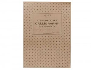 Archie's Calligraphy Straight Guide Sheets A4 Landspace 1,25mm 120g 50ark - blok do kaligrafii