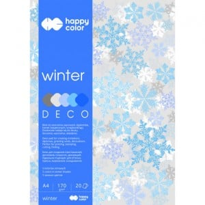 Blok Deco 170g 20 ark. WINTER